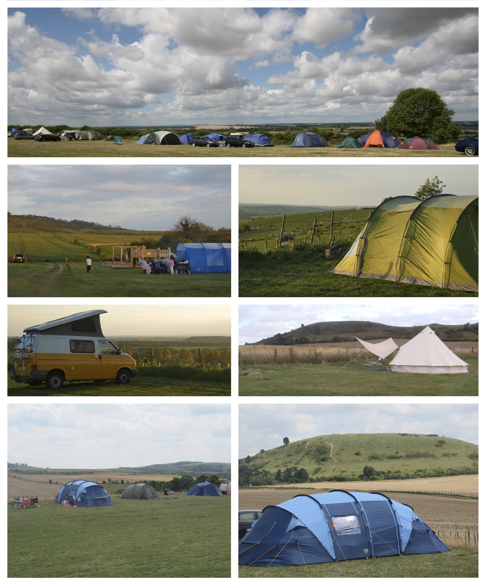 u2022Tents are allowed to pitch almost anywhere on site. u2022Whilst we donu0027t have electric hook-ups available for tents there are power-points located in the ... & Town Farm Camping